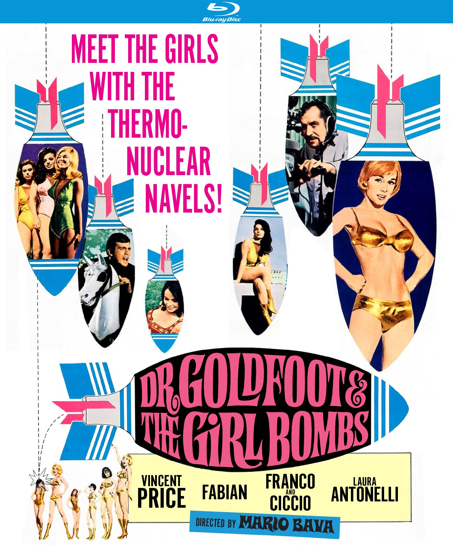 Blu-ray : Dr. Goldfoot And The Girl Bombs (Blu-ray)