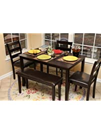 home life 5pc dining dinette table chairs - Dining Table And Chair Set