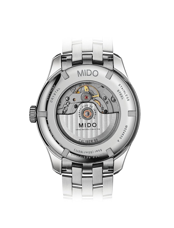 Mido Belluna II Reloj de hombre automático 42.5mm M024.630.11.061.00: Amazon.es: Relojes