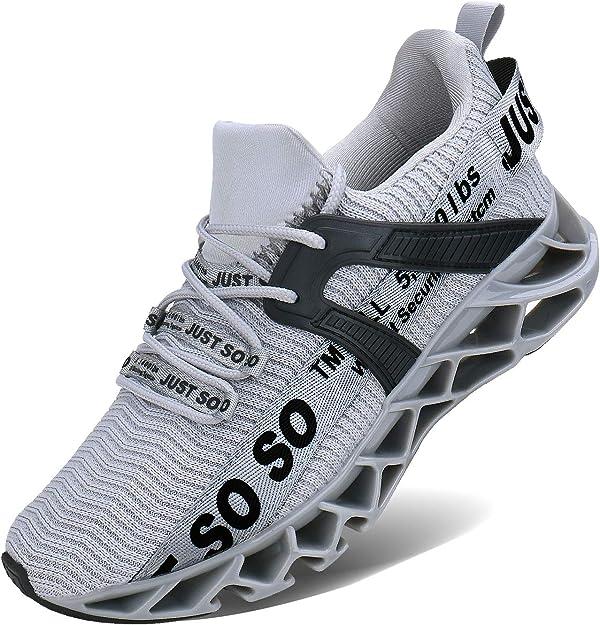 Jsleap Sneakers Herren Damen Unisex Grau