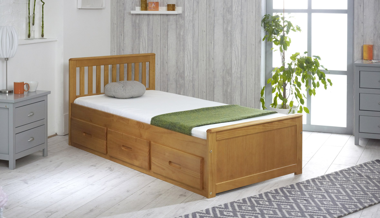single bed with storage. Black Bedroom Furniture Sets. Home Design Ideas