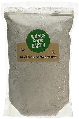 Wholefood Earth Organic Wholemeal/Dark Rye Flour 1 kg