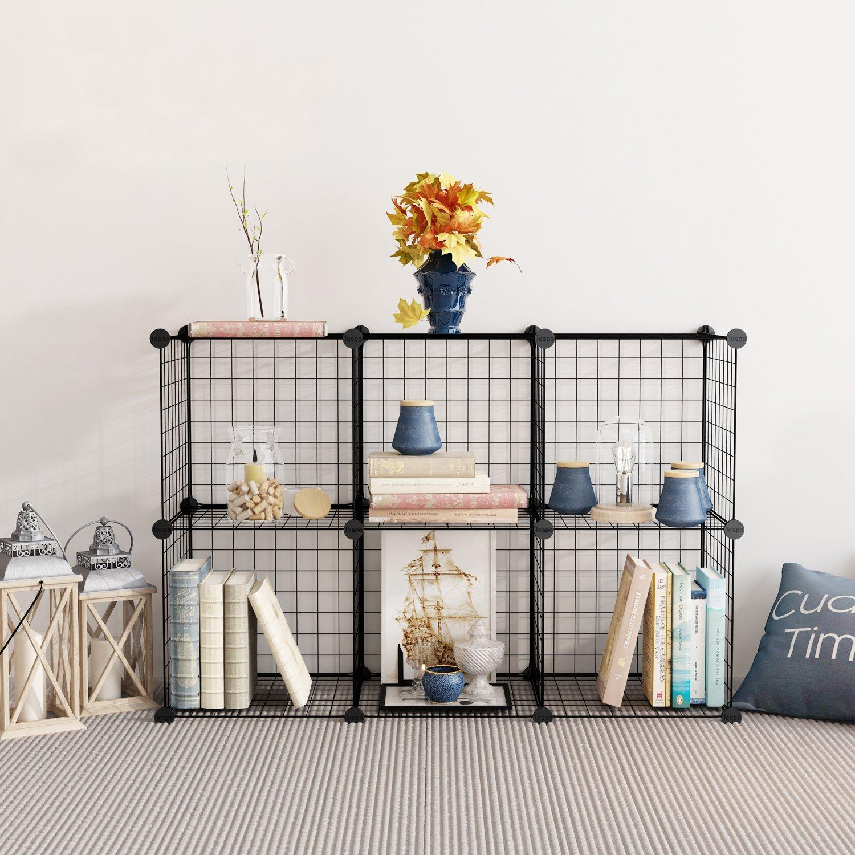 tespo wire storage cubes modular shelving unit diy metal grid closet organizer 9781006531903 ebay. Black Bedroom Furniture Sets. Home Design Ideas