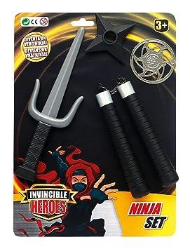 NINJA PLAYSET INVINCIBLE HEROES: Amazon.es: Juguetes y juegos