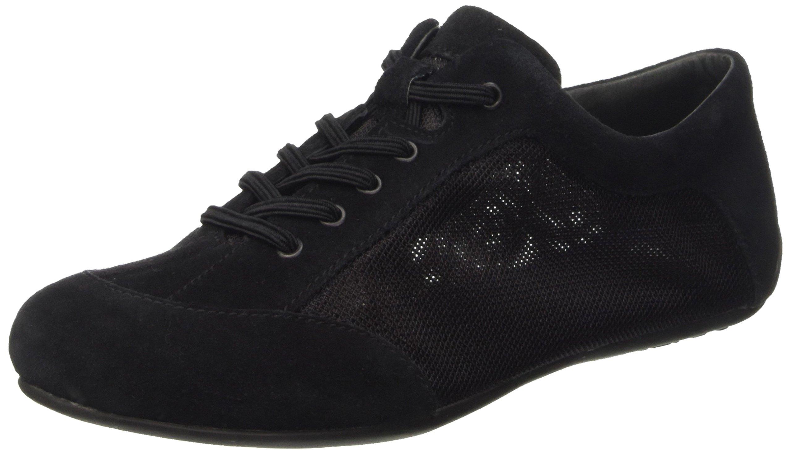 Camper Women's Peu Summer Senda Fashion Sneaker, Black, 40 EU/10 M US