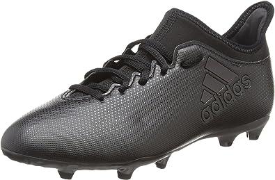 adidas X 17.3 FG, Chaussures de Football Mixte Enfant, Noir