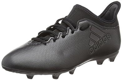 official photos 9e56f 6c2f9 adidas X 17.3 FG, Chaussures de Football Mixte Enfant, Noir Schwarz, 35.5 EU