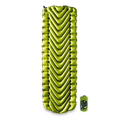 Klymit Static V2 Sleeping Pad, Ultralight, (12% Lighter), Great for Camping, Hiking, Travel and Backpacking