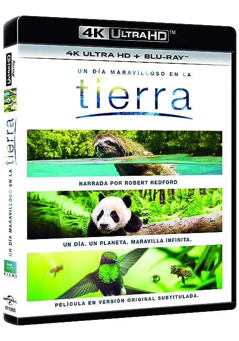 Un Día Maravilloso En La Tierra 4K UHD + BD Blu-ray ...