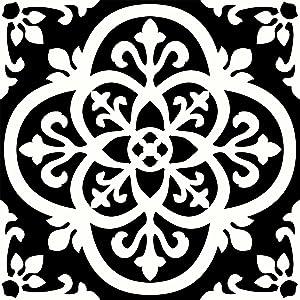 FloorPops FP2475 Gothic Peel & Stick Tiles