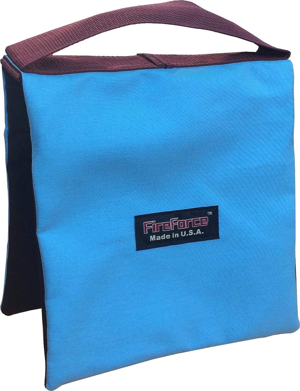 Fire Force Studio Tripod Light Stand Sandbag 20 lb Saxony Blue Color Empty