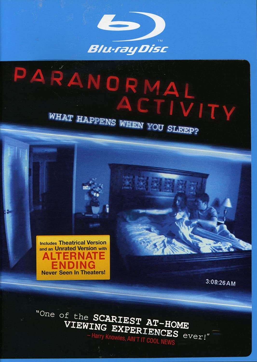 Amazon Com Paranormal Activity Blu Ray 2009 Unrated Movies Tv