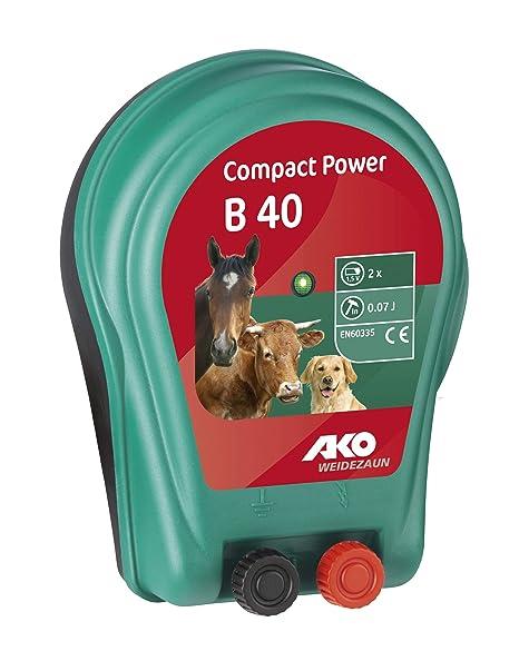 Recinto Elettrico Per Cani.Recinto Elettrico Compact Power B 40 A Batteria Per Cavalli Cani