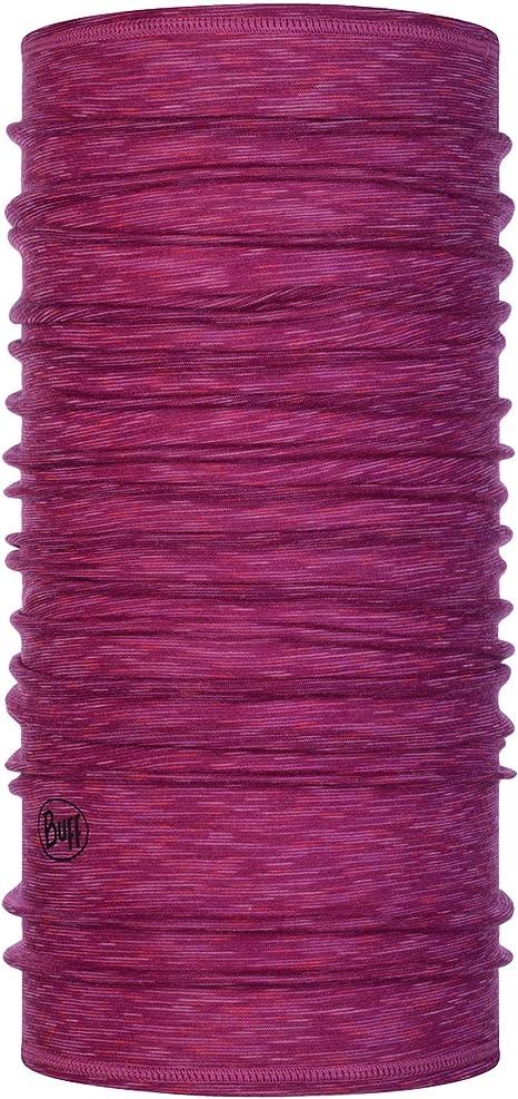 Talla /única Mujer Purple Buff Gorro Lana Merino Lightweight