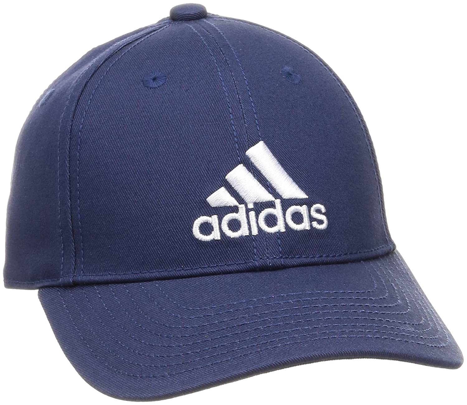 Adidas CF6913 6P Cotton Cap - Renoble Indigo/Noble Indigo/White/Renoble Indigo, One Size