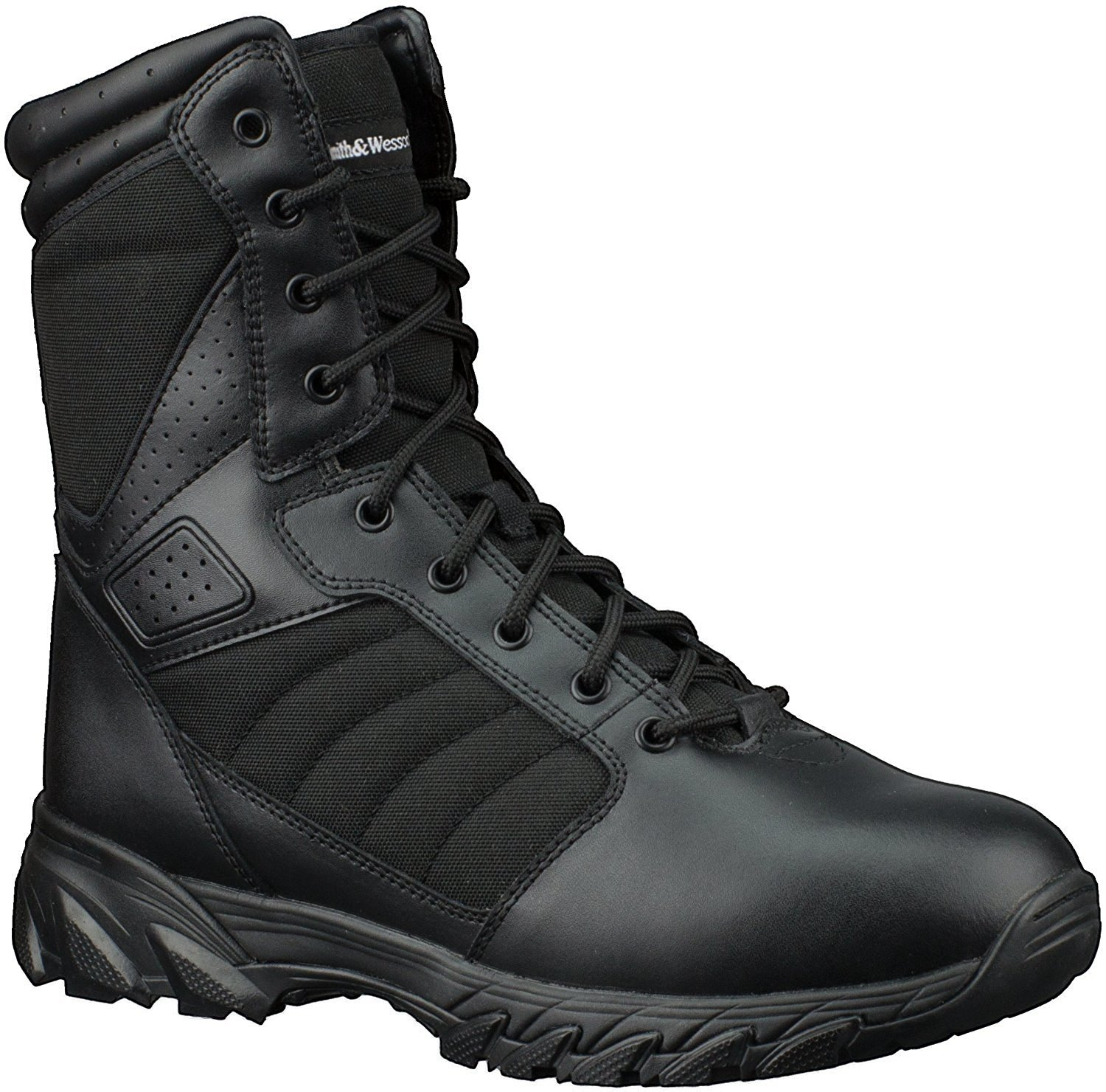 Smith & Wesson Men's Breach 2.0 Tactical Boots, Black, 12W by Smith & Wesson