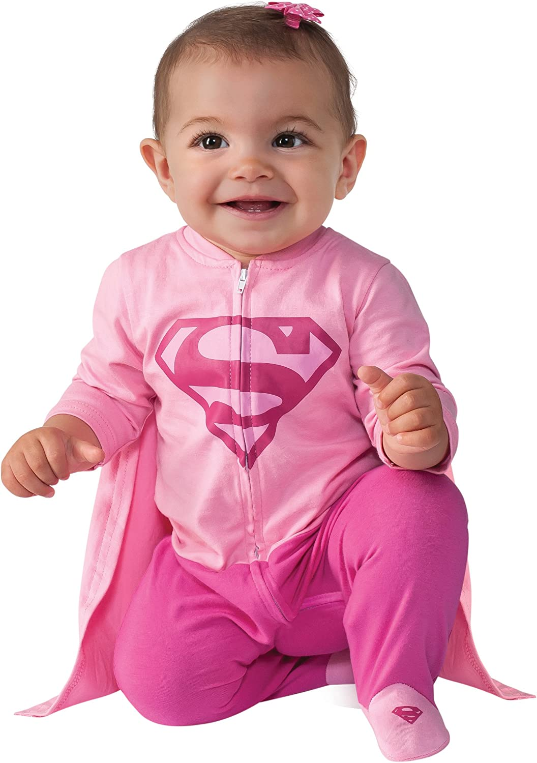 Rubies Costume Baby Girls DC Comics Superhero Style Baby Supergirl Costume