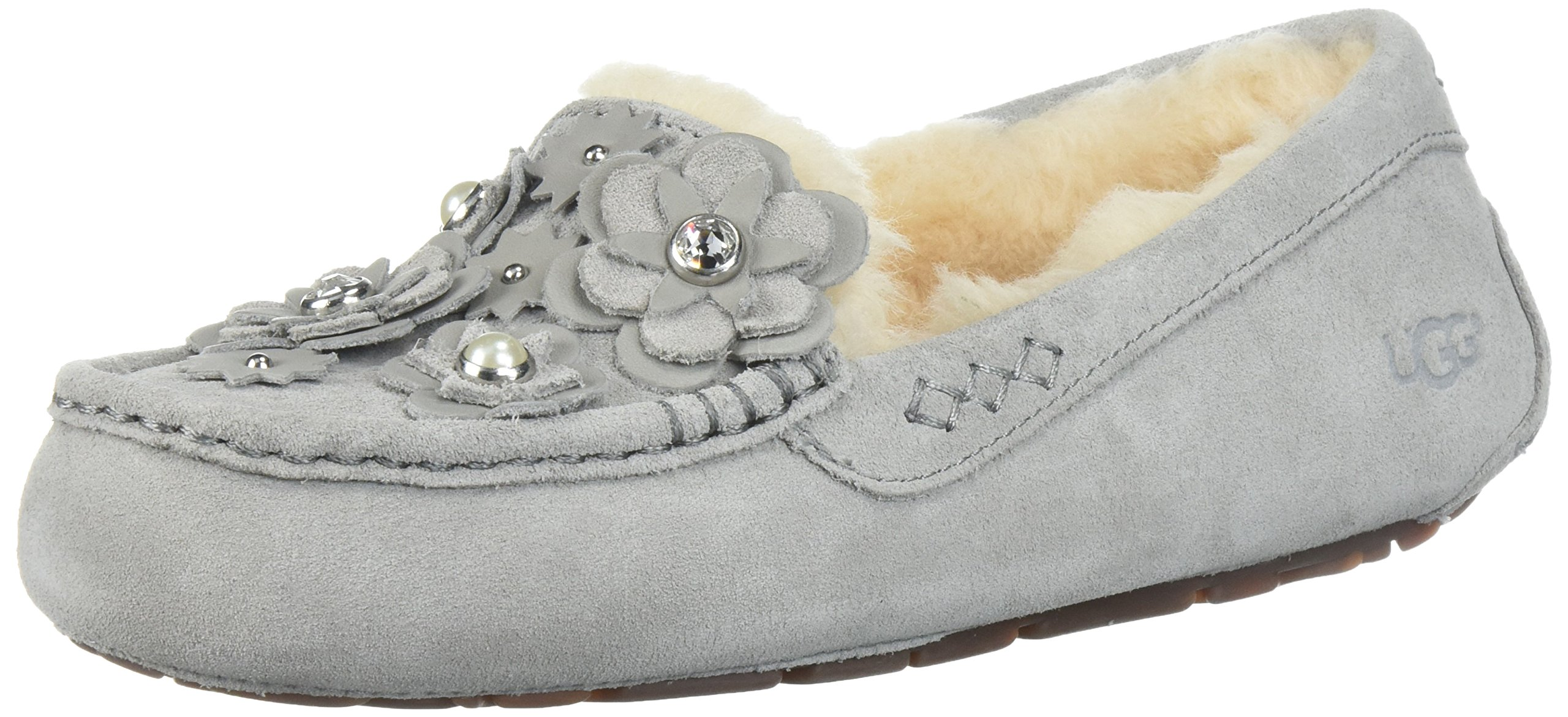 UGG Women's Ansley Petal Slipper, Seal, 9 M US by UGG