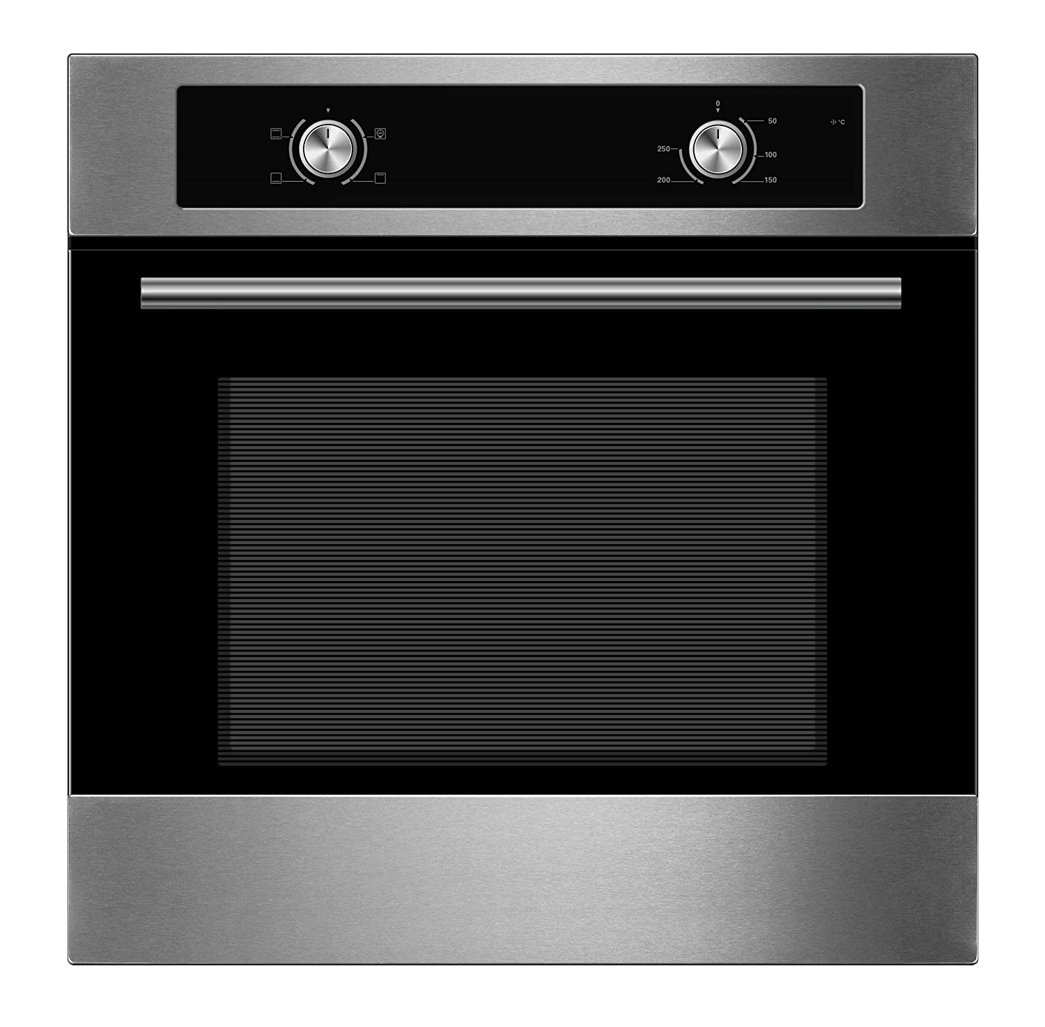 Cookology Built-in Electric Single Static Oven in Stainless Steel | COS600SS [Energy Class A]