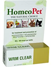 Homeopet H4714 Worm Clear, 15 ml