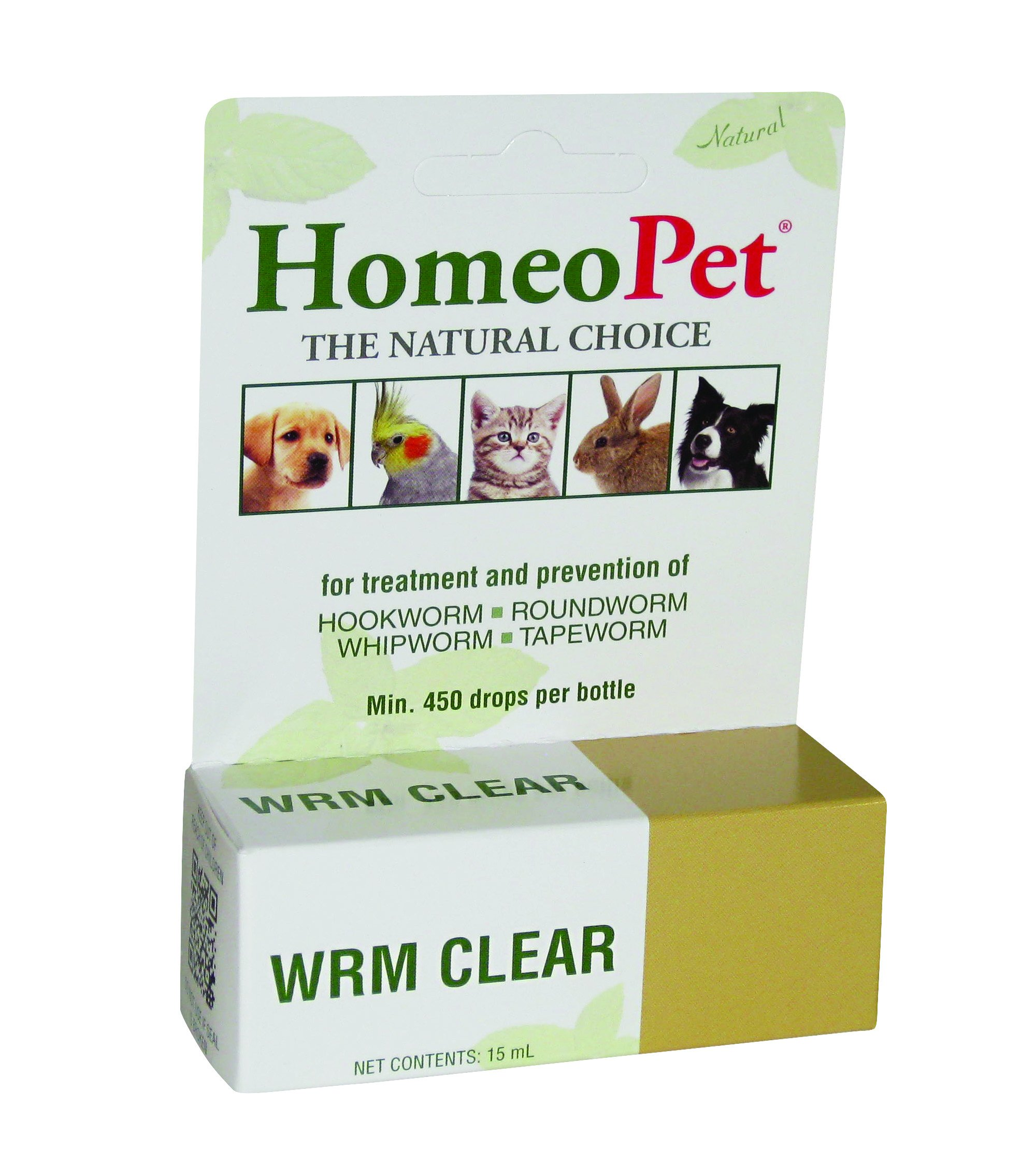 HomeoPet Worm Clear, 15 ml by HomeoPet