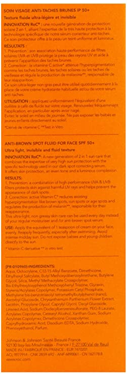 Roc Soleil Protexion Plus Anti Brown Spot Fluid With Spf 50 Plus 50
