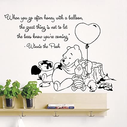 Amazon Wall Decals Quotes Winnie The Pooh When You Go After Enchanting Quotes From Winnie The Pooh