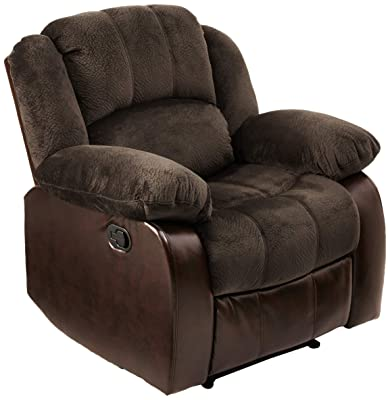 NHI Express 71004-91 Aiden Champion & PU Recliner, Peat