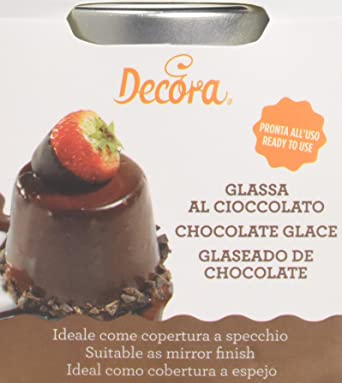 Decora Chocolate Glace For Mirror Finish 250 G Pack Of 2