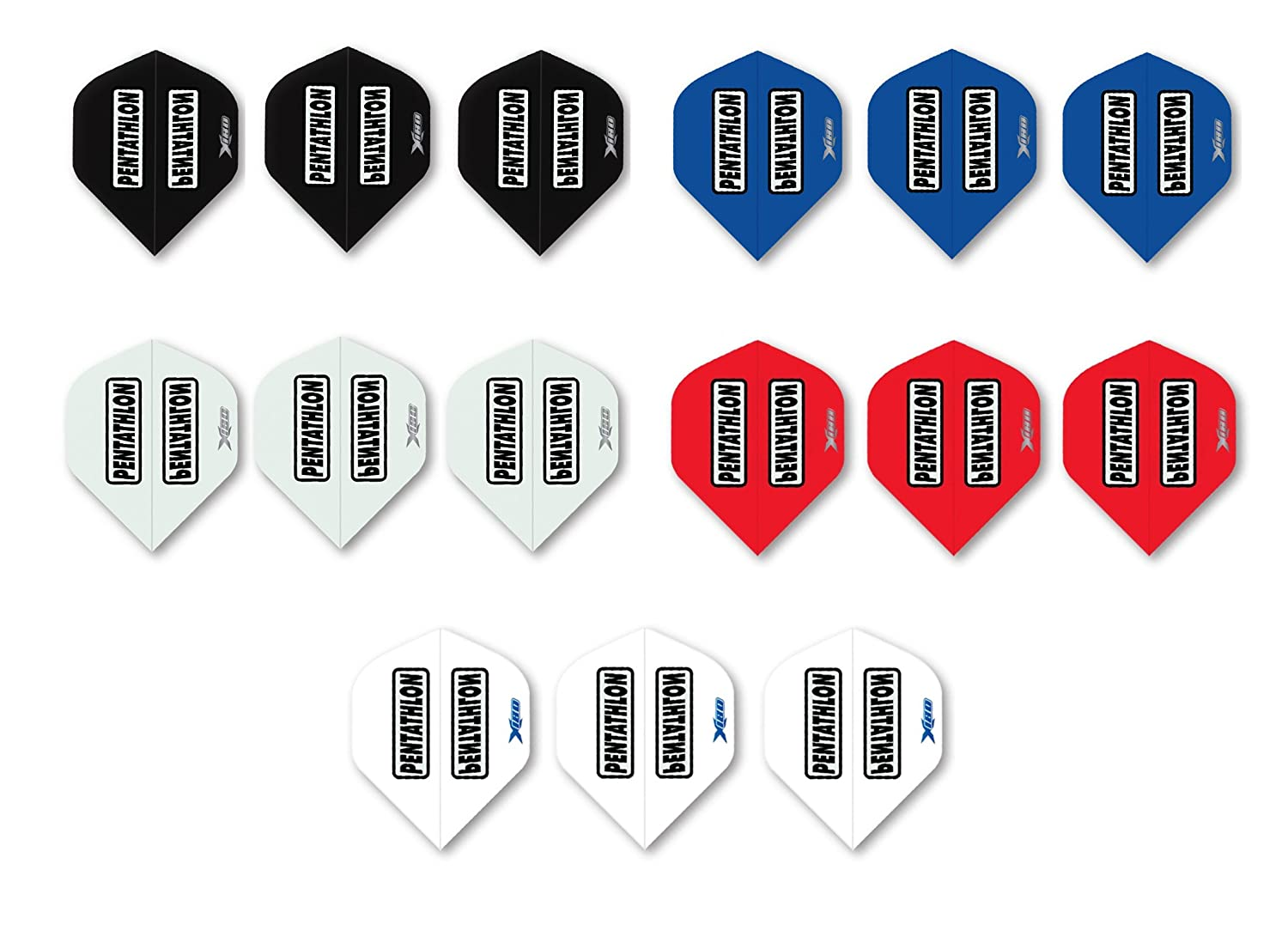 Pentathlon X180 Super Thick Standard Dart Flights