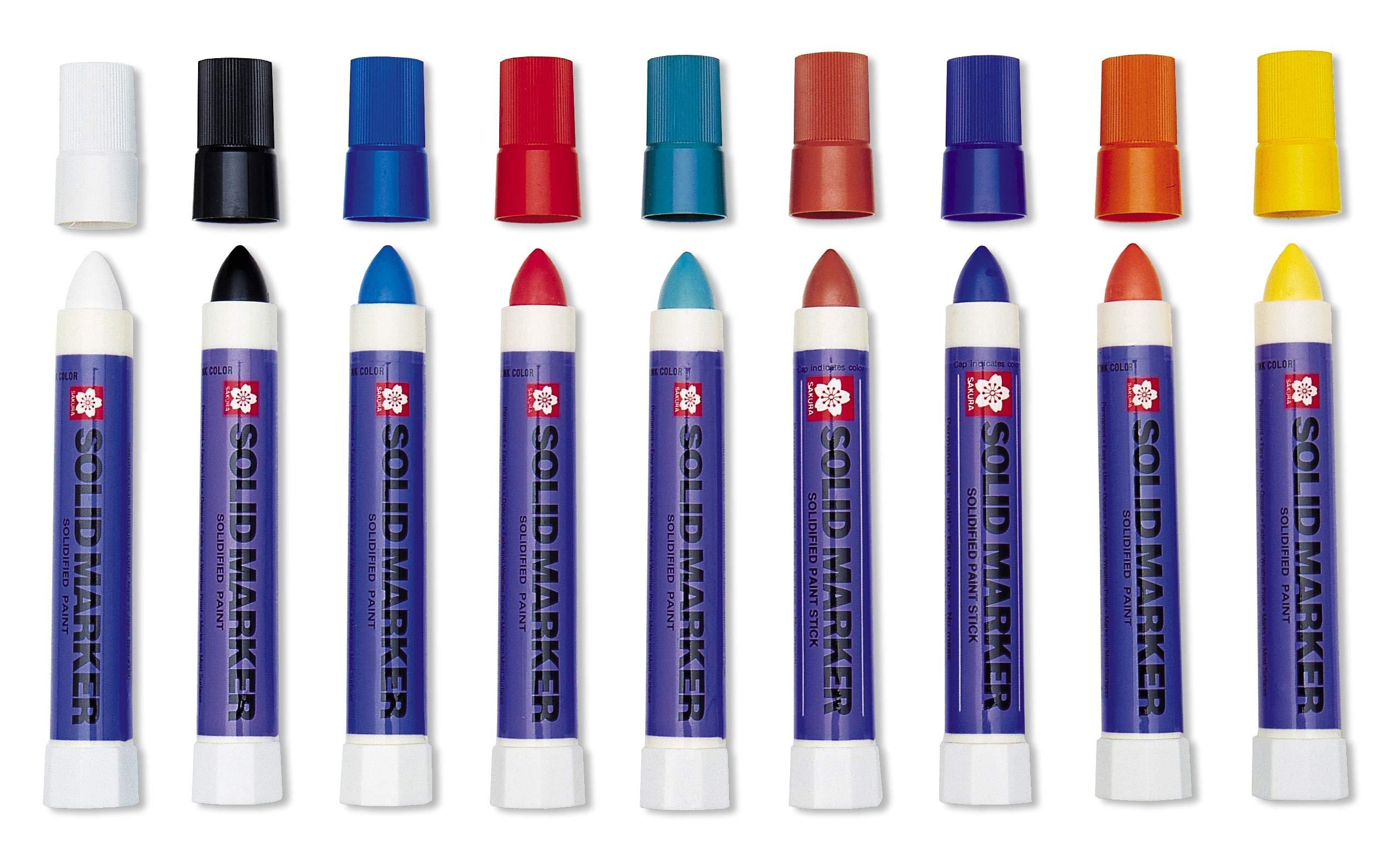 12 Assorted Colors Sakura Paint Marker Set