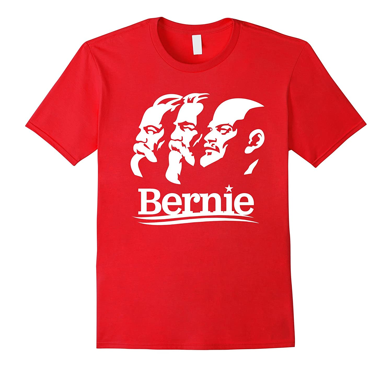 Anti Bernie Sanders Communist Leaders Funny Campaign T-Shirt-BN