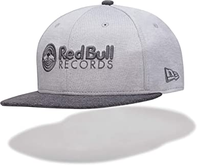 Red Bull Records New Era 9Fifty Mono Snapback Gorra, Negro Unisexo ...