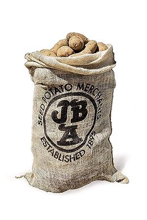 10 Sacs En Toile De Jute Pour Pommes De Terre Et Legumes Amazon Fr