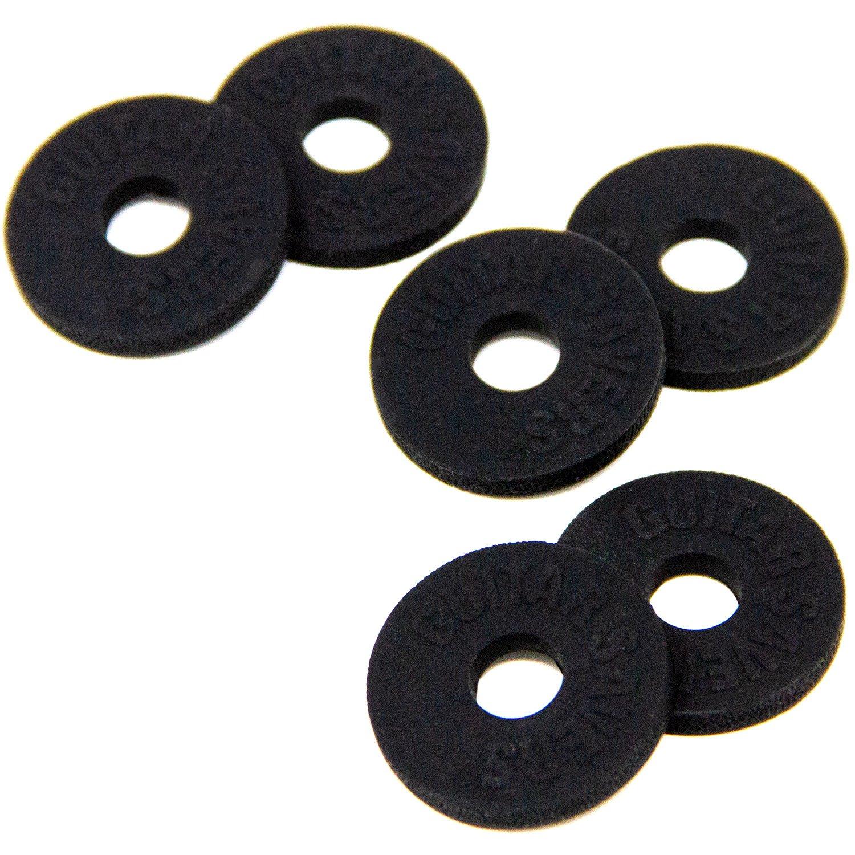 Guitar Savers Premium Strap Locks 3 Pair Black Amazon Ibanez Wiring Diagram Jtk 1