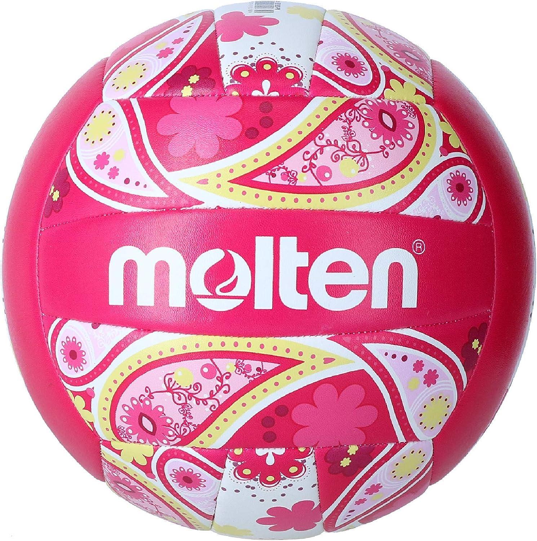 MOLTEN V5b1300 Balón De Voleibol, Unisex Adulto, Rosa, Talla Única ...