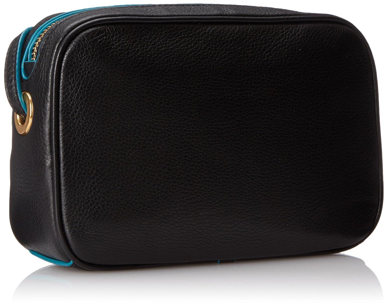 0e8b4dbaa74eb MARC by Marc Jacobs 'Sally' Leather Crossbody Bag - Black: Amazon.co.uk:  Clothing