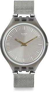 Swatch SVOM100M - Reloj Digital de Cuarzo, Unisex, Correa de Acero Inoxidable