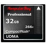Komputerbay 32GB High Speed Compact Flash CF 266X Ultra High Speed Card 36MB/s Schreiben und 37MB/s lesen UDMA