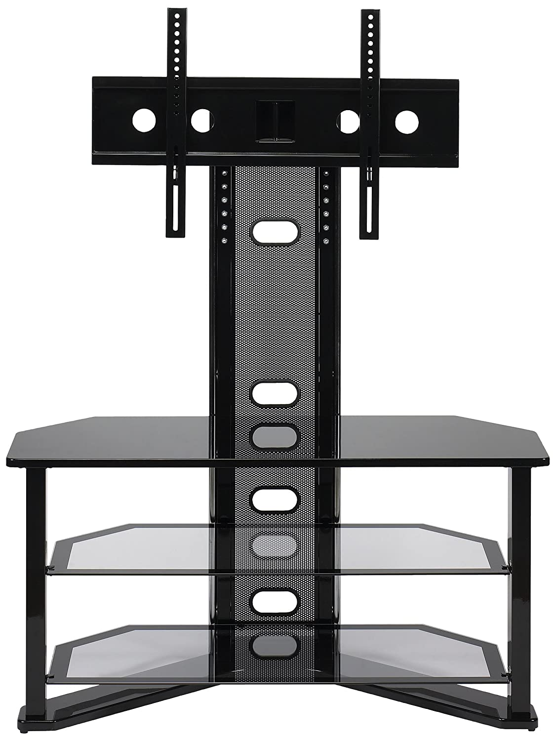 panel led screens lcd display fits adjustable flat pedestal portable height tv mount dp pole it vesa stand floor