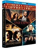 Robert Langdon - Da Vinci Code + Anges & démons + Inferno [Blu-ray + Copie digitale]