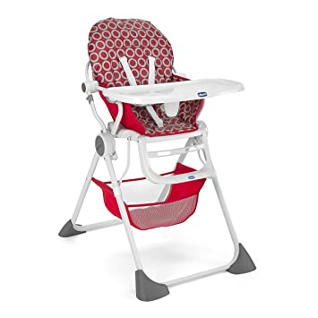 Chicco Chaise Haute Pocket Lunch Red Wave Amazon Ca Baby