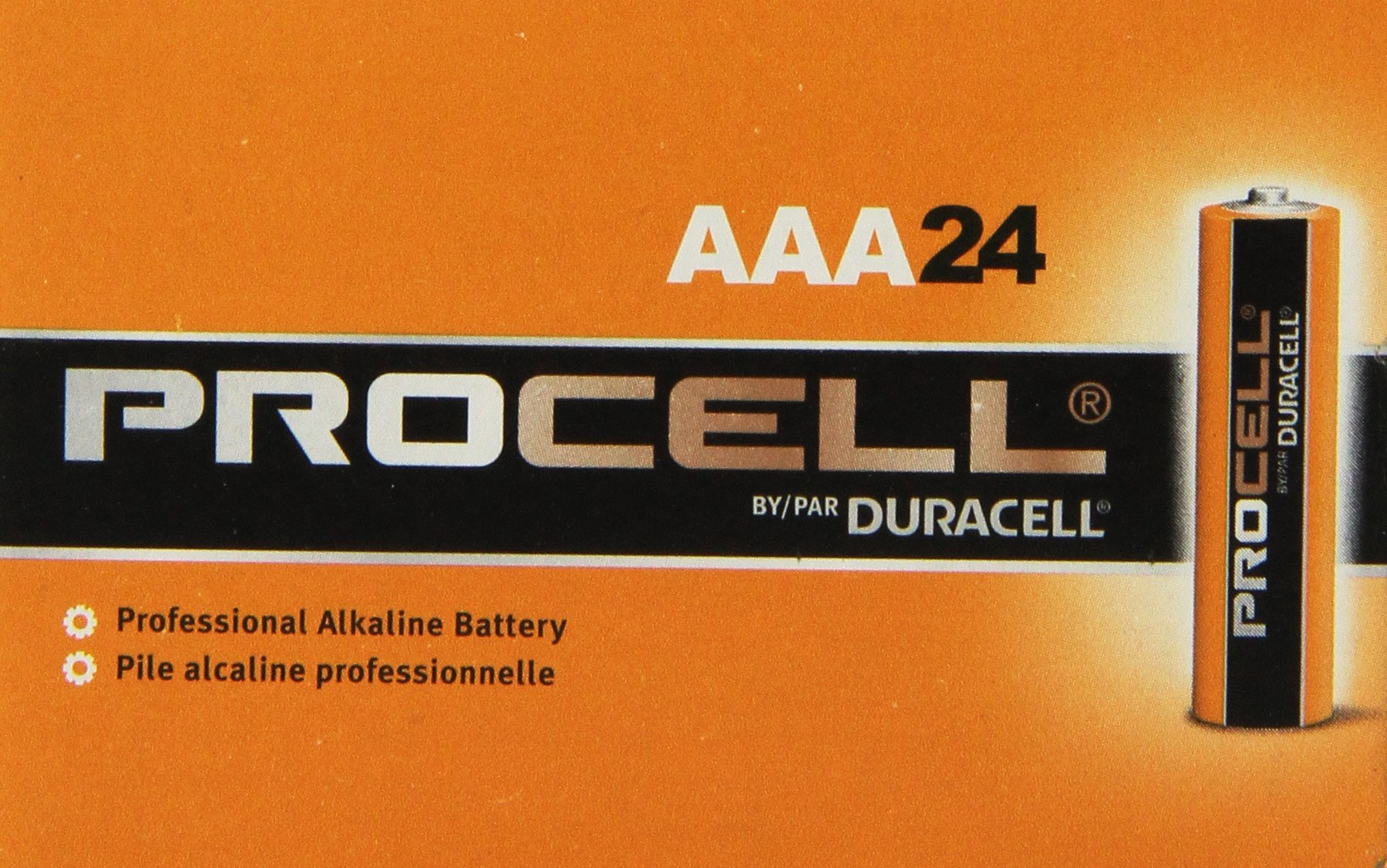Duracell Procell-48 Battery Super Size Package- (Size-AAA) by Duracell