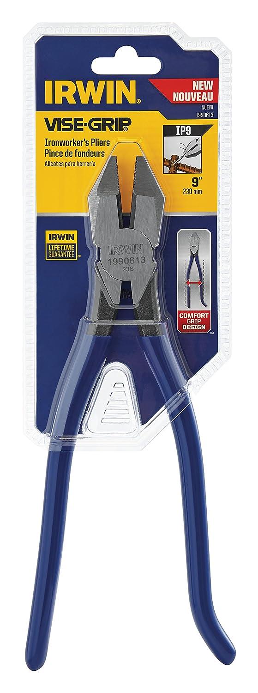 Irwin Tools 1990613 Irwin VISE-GRIP Ironworker's Pliers, 9