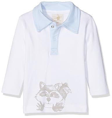 DIMO-TEX natubini Polo-Langarmshirt Waschbär Camiseta de Manga ...