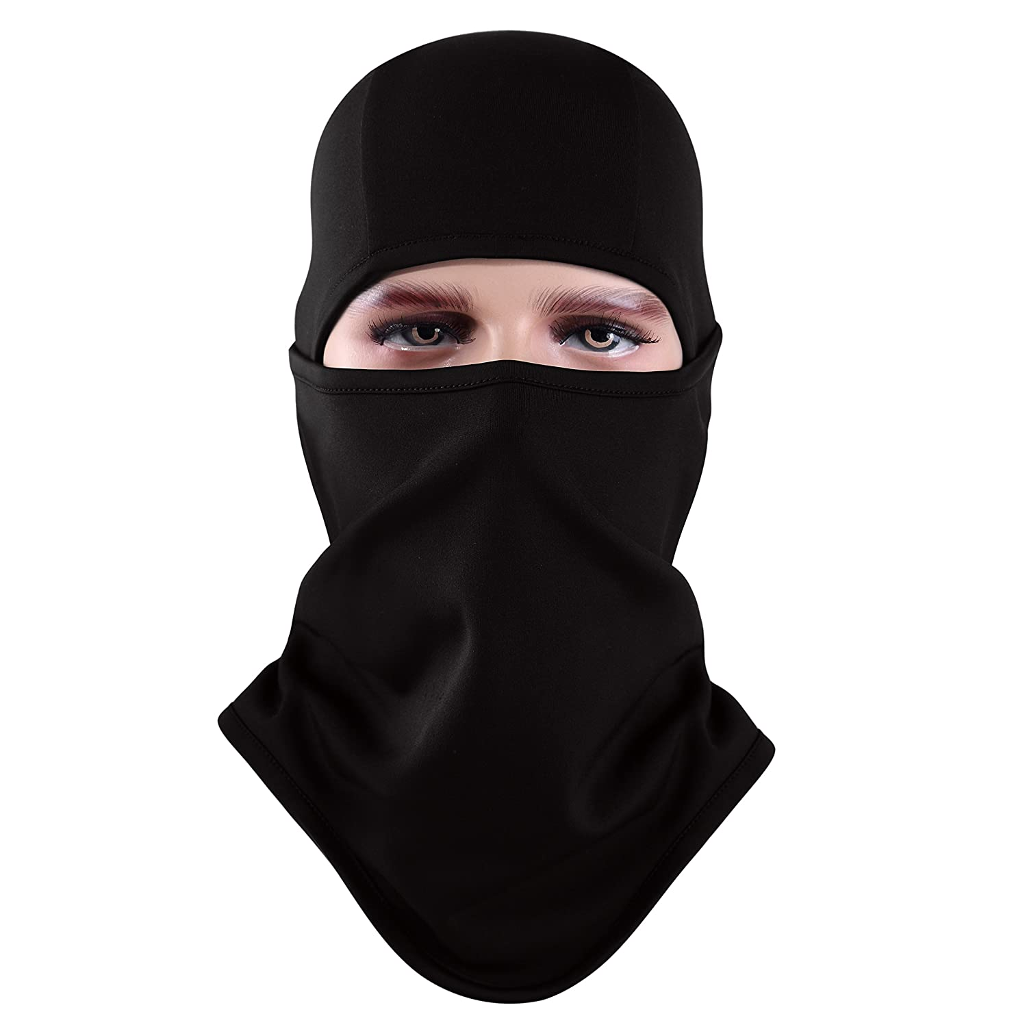 Aegend Balaclava, Ski Face Mask Polyester Fleece for Women Men Youth Neck Warmer for Motorcycle Snowboard Cycling Outdoors in Winter Tactical Balaclava Hood or Lightweight Windproof Hat, 1 Piece