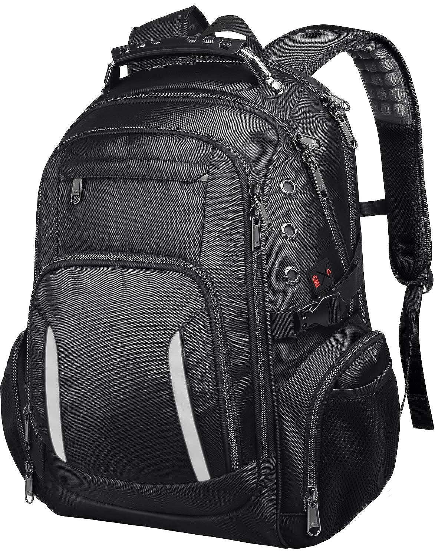 17 inch laptop backpack Men TSA friendly bookbags for shool college students