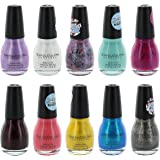 Sinful Colors Finger Nail Polish Color Lacquer Set 10-Piece Collection (Glamour)