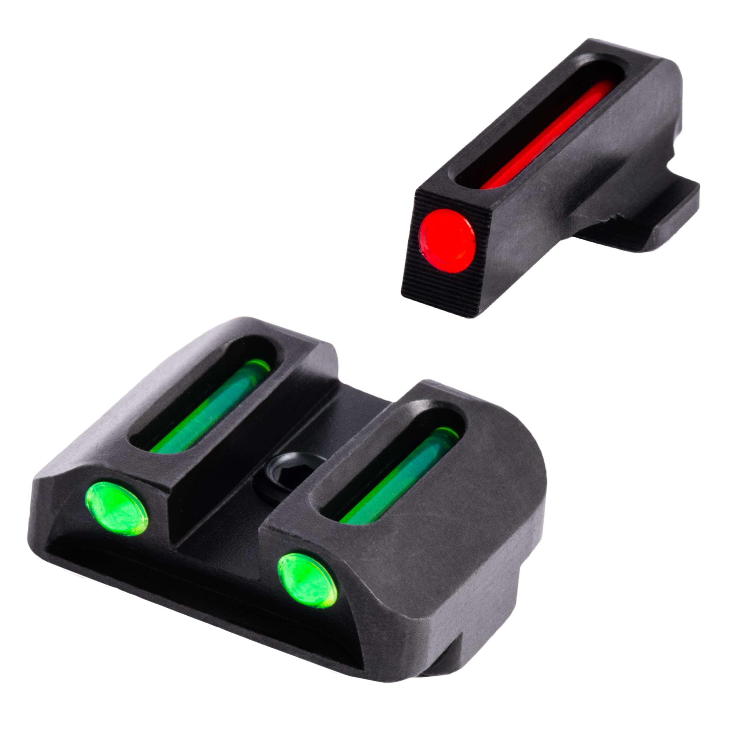 TRUGLO Fiber-Optic Front and Rear Handgun Sights for Springfield XD, XDM (excluding 5.25'' Comp Series) and XDS