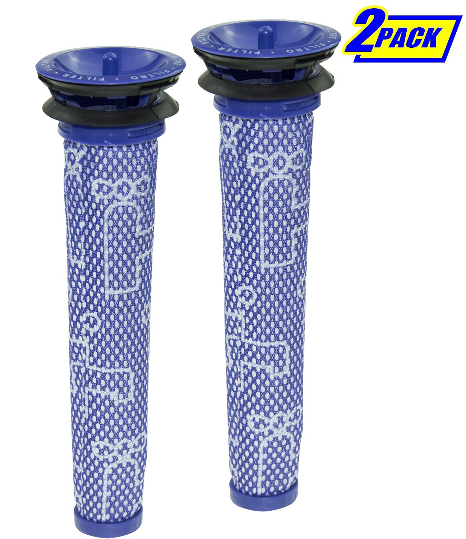 SKROS 2 PACK For Dyson DC58, DC59,DC61,DC62, V6, V7, V8 Compatible Pre Filter,Washable Vac Filter Replacement Part